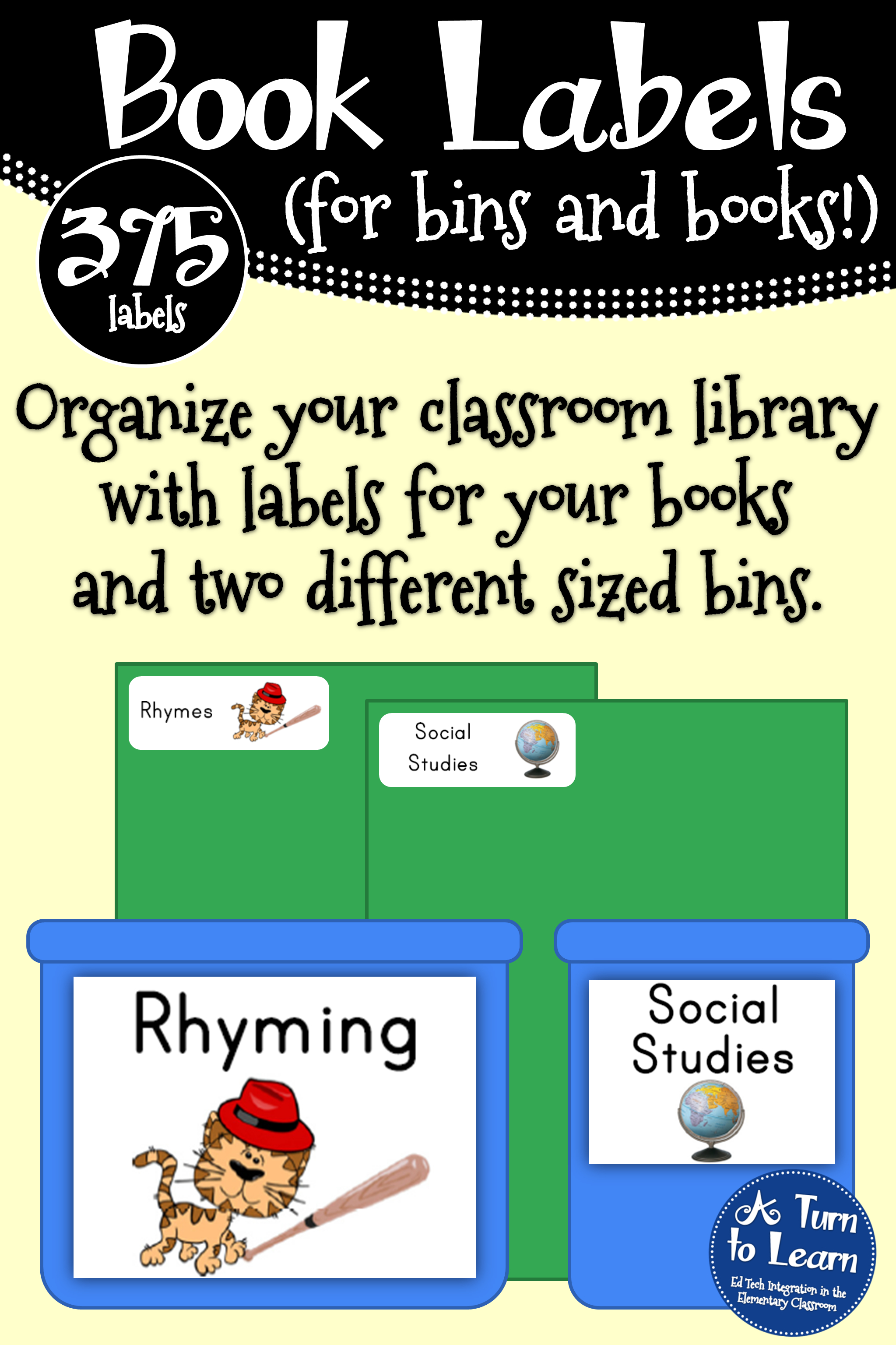 Complete Library Organization  Labels For Your Bins And Your Books Regarding Bin Labels Template