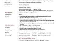 Compliance Manager Resume Template Cv Example Text Hr Officer regarding Legal Compliance Register Template