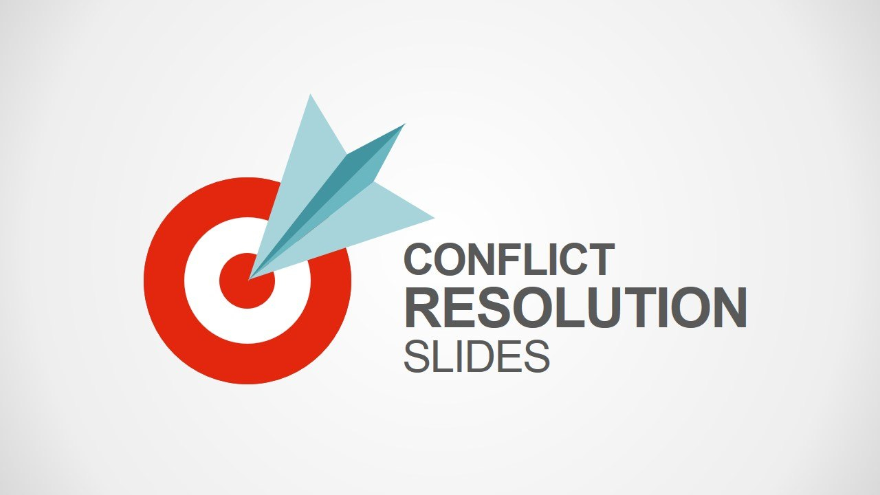 Conflict Resolution Powerpoint Template  Slidemodel With Powerpoint Template Resolution