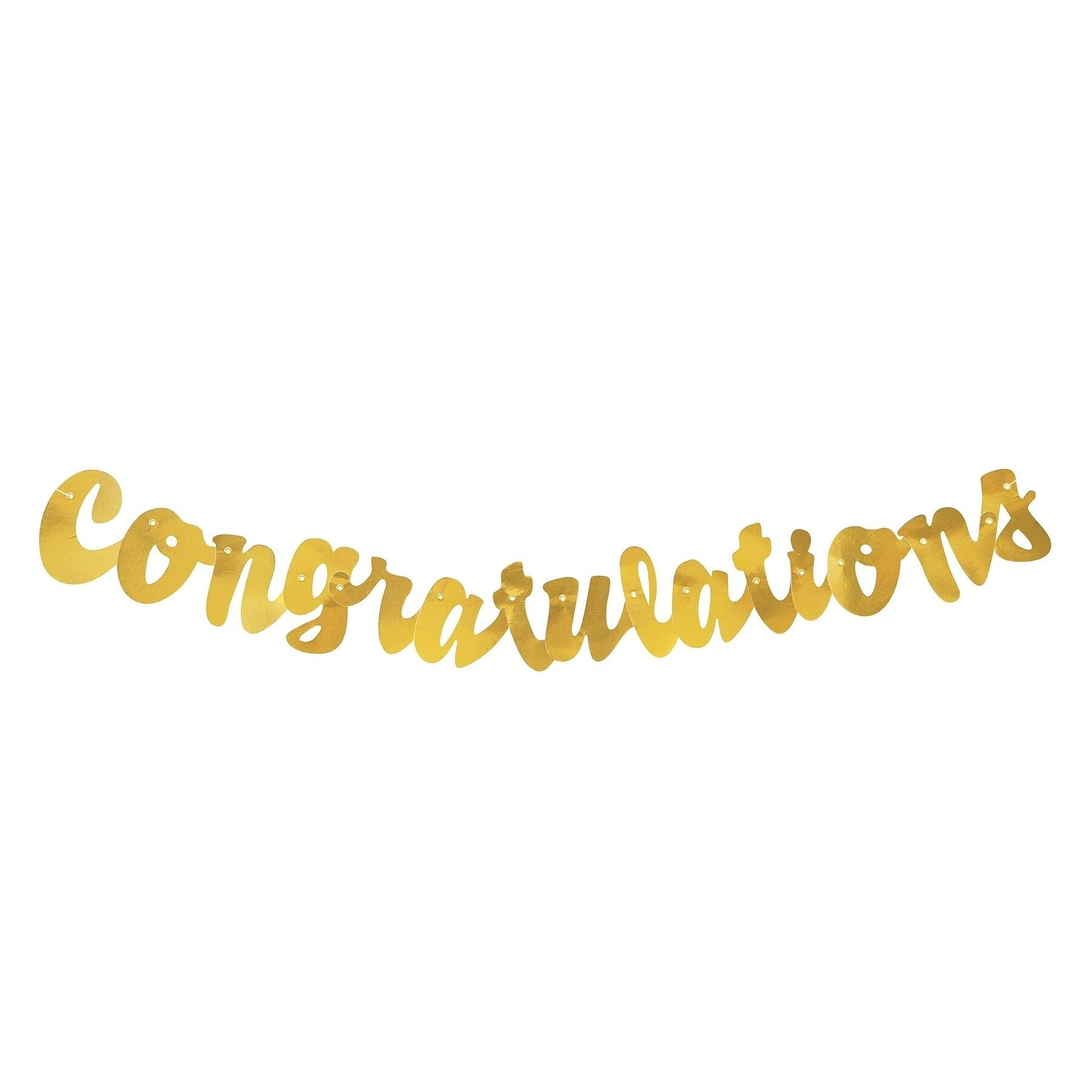 Congratulations Banner Intended For Congratulations Banner Template