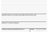 Construction Weekly Or Daily Progress Report Form And Template regarding High School Progress Report Template