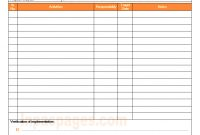 Continuous Improvement Project Format with regard to Improvement Report Template