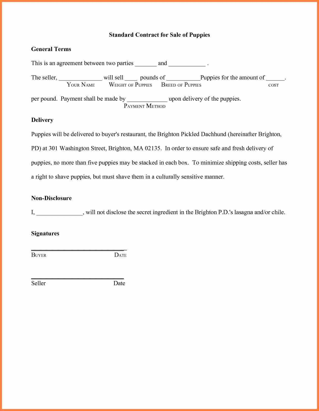 Contract Agreement Template Between Two Parties With Regard To Legal Contract Between Two Parties Template