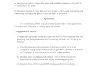 Contract Salesperson Agreement   Easy Steps throughout Sales Representation Agreement Template