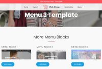 Cool  Basic Html Templates For Your Website From with Simple Html Menu Template
