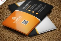 Corporate Business Card Bundle Free Psd  Psdfreebies intended for Restaurant Business Cards Templates Free