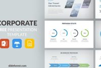 Corporate Free Powerpoint Template within Powerpoint Slides Design Templates For Free