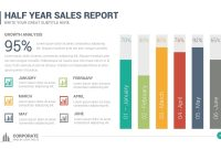 Corporate Overview Powerpoint Templatelouistwelvedesign with regard to Sales Report Template Powerpoint