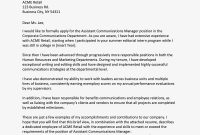 Cover Letters For An Internal Position Or Promotion in Business Promotion Email Template