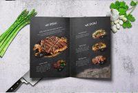 Craft Food Bifold Menu  A  Us Letter  Restaurant Menu Template within Bi Fold Menu Template