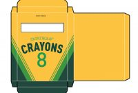 Crayon Box Template   Free Paper Dolls At Arielle Gabriel's The regarding Crayon Labels Template