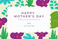Create A Meaningful Mother's Day Card – Befunky Blog in Mothers Day Card Templates