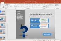 Create A Quiz In Powerpoint With Quiz Tabs Powerpoint Template regarding Quiz Show Template Powerpoint