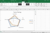 Create A Radar Chart In Excel  Youtube within Blank Radar Chart Template