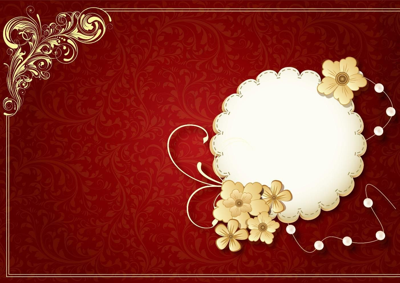 Create Your Own Indian Wedding Invitation Blank Template Intended For Indian Wedding Cards Design Templates
