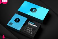 Creative Agency Business Card Psd  Freedownloadpsd intended for Creative Business Card Templates Psd