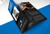 Creative Agency Trifold Brochure Free Psd Template  Psdfreebies intended for Brochure Psd Template 3 Fold