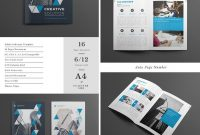 Creative Business Brochure Template Indd  Brochures  Indesign with Adobe Indesign Brochure Templates