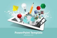 Creative Design Powerpoint Template  Slidesbase pertaining to Multimedia Powerpoint Templates