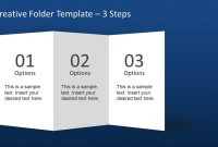 Creative Folder Template Layout For Powerpoint  Slidemodel inside Quad Fold Brochure Template