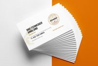 Creative Restaurant Business Card Templates  Ai Apple Pages regarding Pages Business Card Template