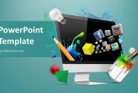Creative Web Design Powerpoint Template  Slidesbase inside Multimedia Powerpoint Templates