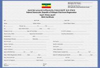 Crvs  Birth Marriage And Death Registration In Ethiopia  Unicef Data within Girl Birth Certificate Template