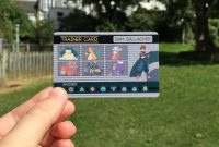 Custom Pokemon Trainer Id  Want  Pokemon Trainer Card Pokemon with Pokemon Trainer Card Template