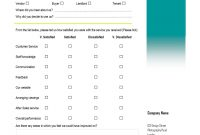 Customer Satisfaction Survey A Virtual Assistant Can Create Forms within Customer Satisfaction Report Template