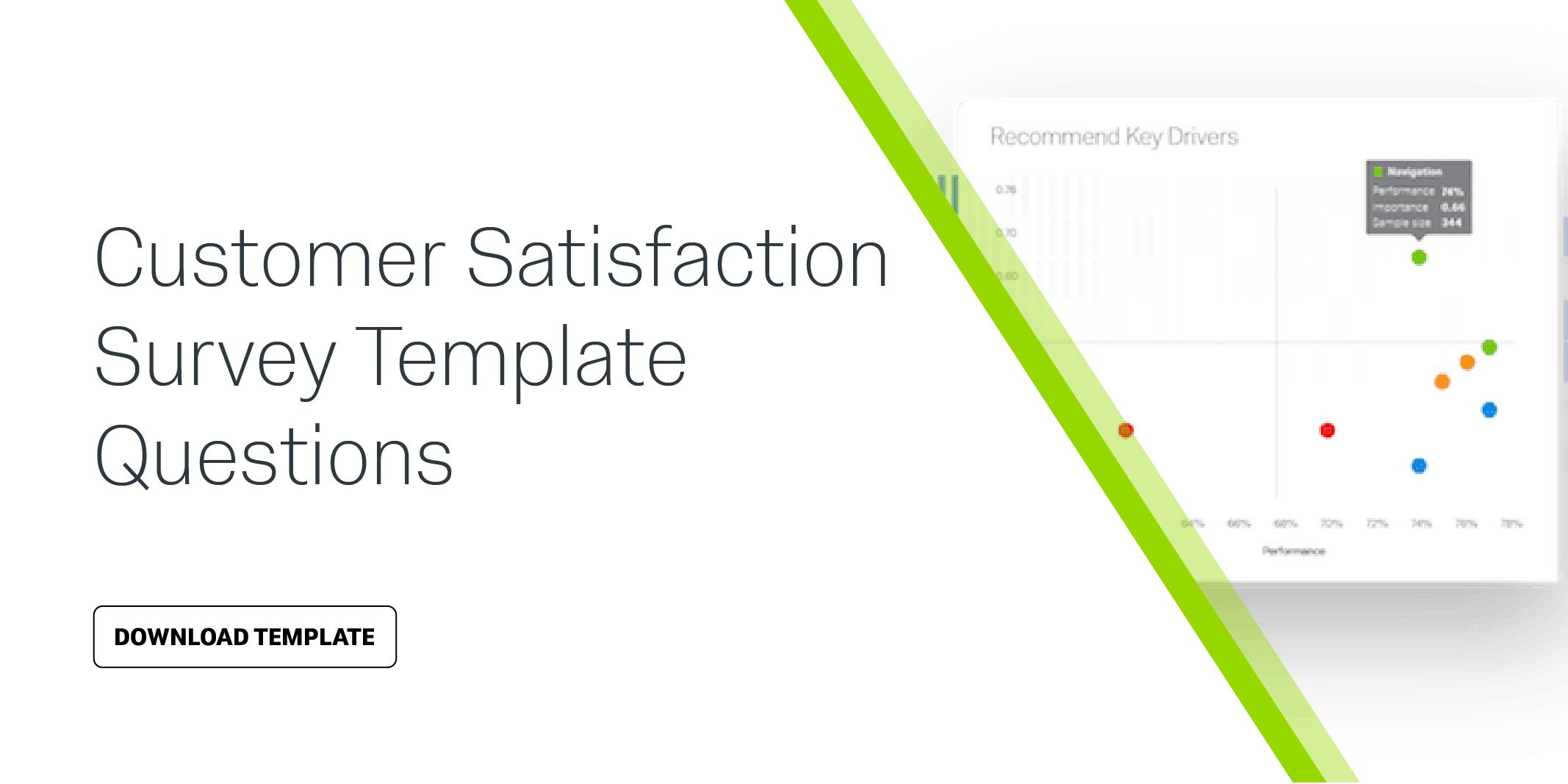 Customer Satisfaction Survey Template Questions  Qualtrics In Customer Satisfaction Report Template