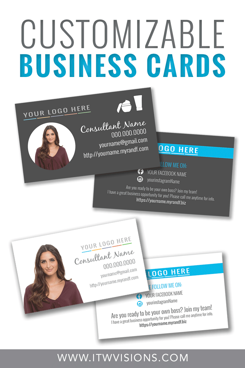 Customizable Business Card Templates For Rodan And Fields Business Pertaining To Rodan And Fields Business Card Template