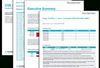 Cve Analysis Report  Sc Report Template  Tenable® intended for Nessus Report Templates