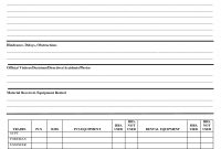 Daily Inspection Report Template Elegant Of Work Ideas inside Engineering Progress Report Template