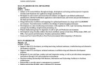 Data Warehouse Resume Samples  Velvet Jobs For Data Warehouse Business Requirements Template