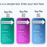 Day Plan Powerpoint Template      Day Plan inside 30 60 90 Day Plan Template Powerpoint