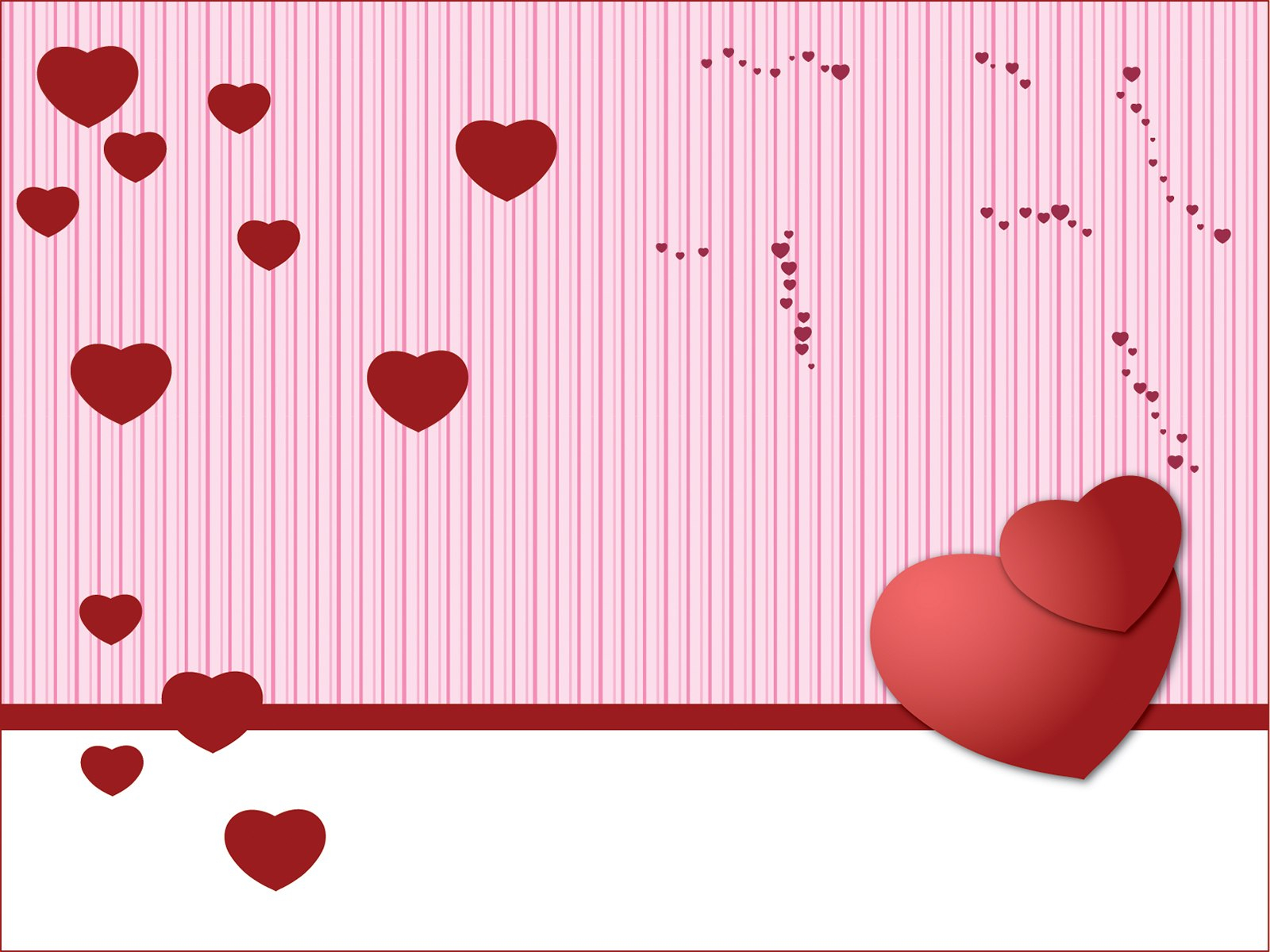 Days Powerpoint  Free Ppt Backgrounds And Templates Throughout Valentine Powerpoint Templates Free