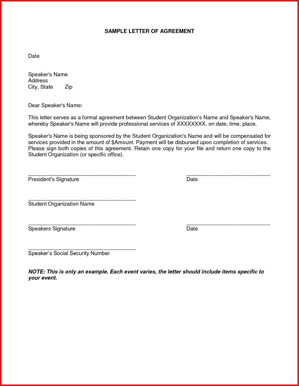 Debt Settlement Agreement Letter Luxury Personal Loan Payoff Pertaining To Debt Settlement Agreement Letter Template