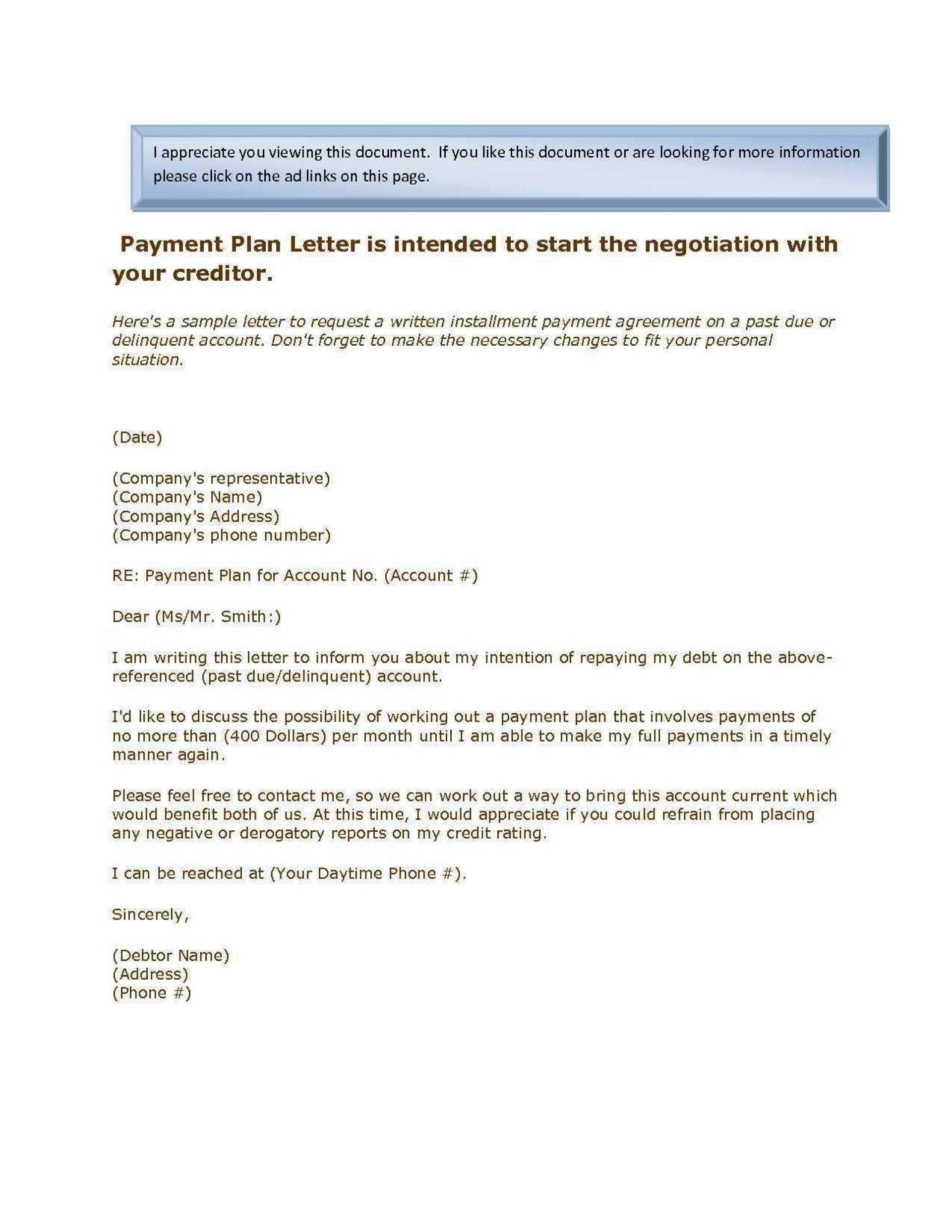 Debt Settlement Agreement Template Ideas Letter Templates For Regarding Negotiated Settlement Agreement Sample