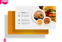 Delicate Restaurant Business Card Templates  Decolore for Food Business Cards Templates Free