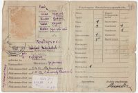 Demjanjuks Idcard A Fake  Axis History Forum intended for World War 2 Identity Card Template