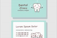 Dentist Business Card Template Free Astonishing Dental Appointment in Dentist Appointment Card Template