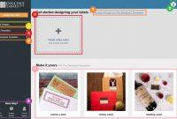 Design Interface  Maestro Label Designer  Onlinelabels inside Online Labels Template