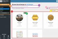 Design Interface  Maestro Label Designer  Onlinelabels intended for Maestro Labels Templates