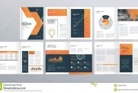 Design Layout Template For Company Profile Annual Report intended for Welcome Brochure Template