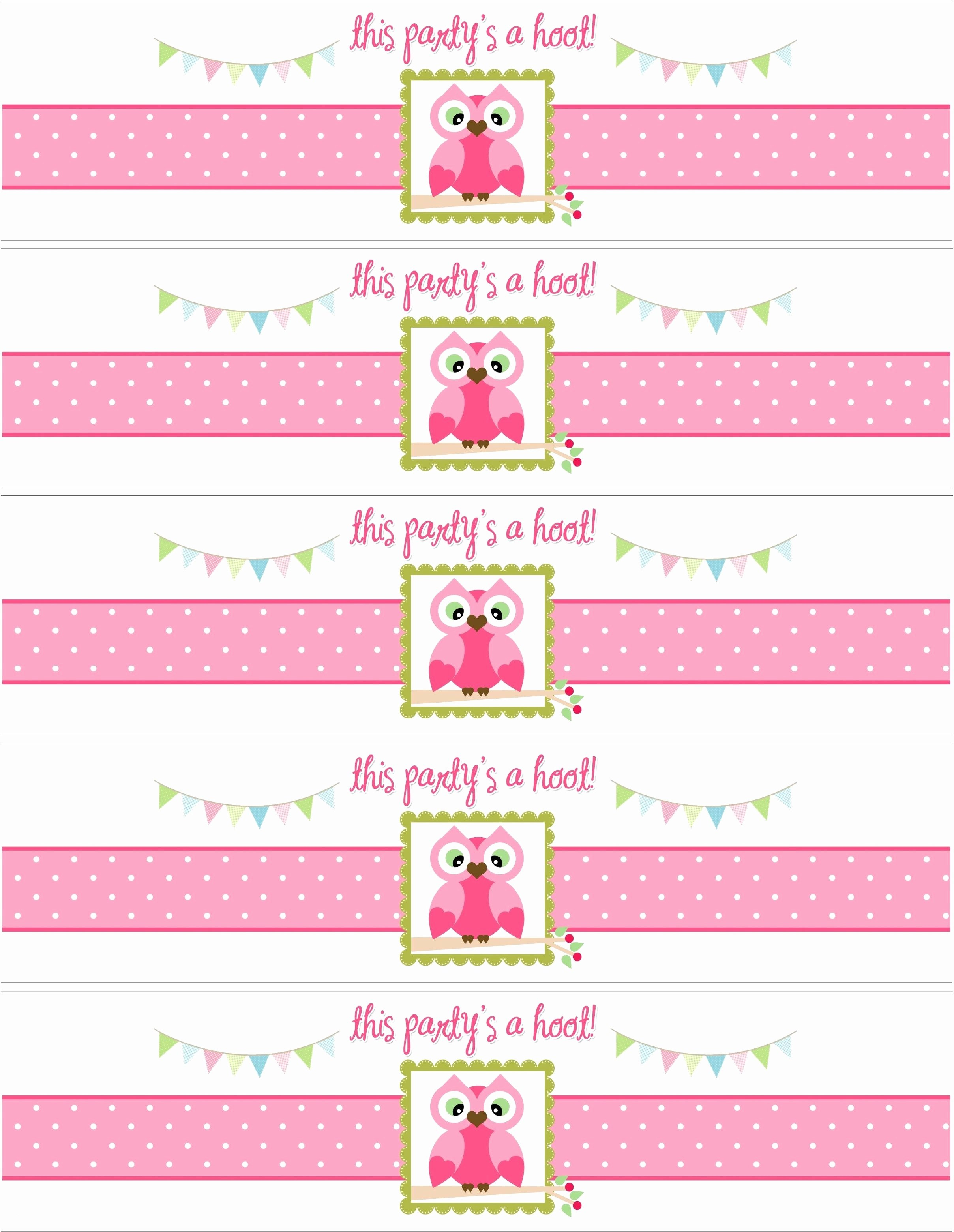 Design Your Own Water Bottle Labels Free Best Of Label Template Pertaining To Baby Shower Bottle Labels Template