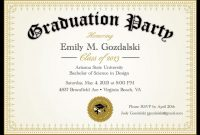 Diplomagraduationpartyinvitationsgradbyannounceitfavors within College Graduation Certificate Template
