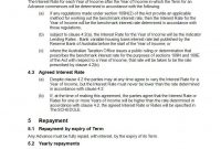 Division A Loan Agreement  Free Sample Online  Precedents Online with regard to Division 7A Loan Agreement Template Free