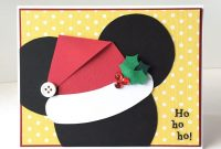 Diy Disney Christmas Card  Disneythemed Layouts Cards  Projects in Diy Christmas Card Templates