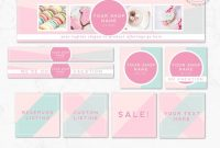 Diy Editable Etsy Shop Graphic Bundle Kit  Etsy Banner Cover Photo with regard to Free Etsy Banner Template