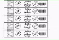 Diy Water Bottle Labels  Page   Water Bottle Labels intended for Diy Water Bottle Label Template